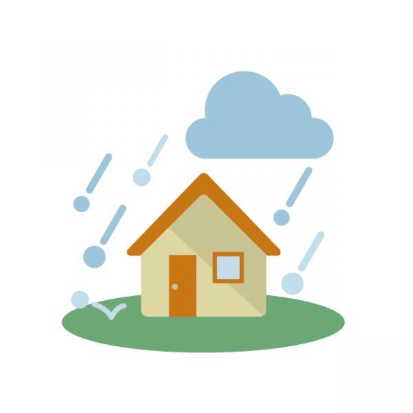 【雹災】雹の被害は車両保険(自動車保険)や火災保険で補償される?