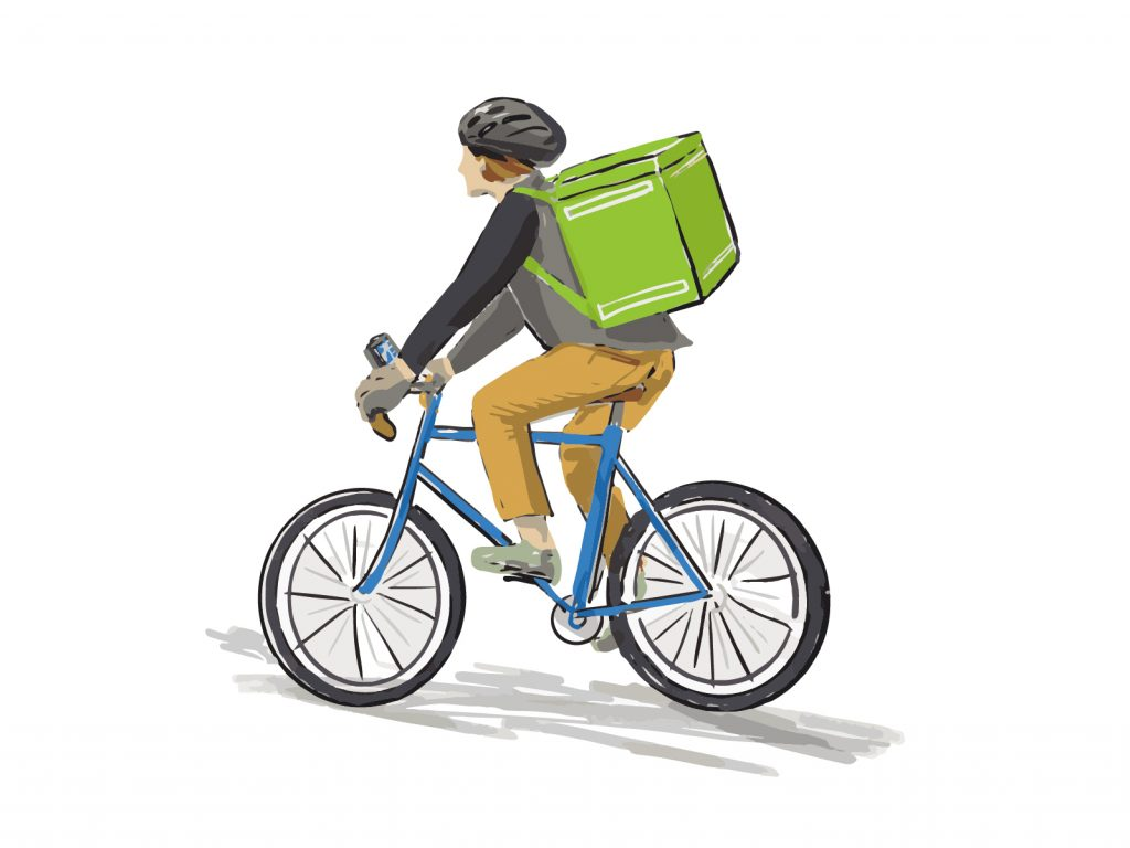 自転車保険は業務中だと対象外!業務用の施設賠償責任保険とは?